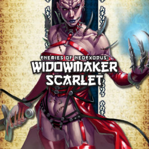 Cover Enemies of NeoExodus: Widowmaker Scarlet