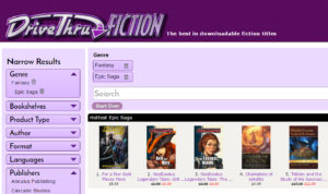 Top 5 at DriveThruFiction